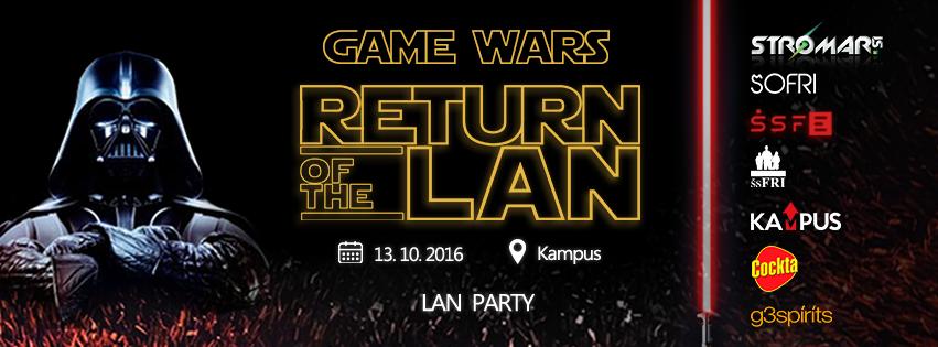 Game Wars - Return of the LAN - LAN Party: FE vs FRI - Stromar.si