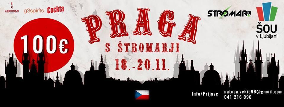 Praga s Štromarji - Stromar.si