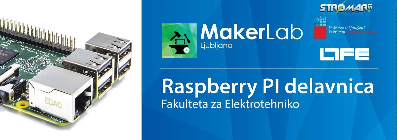 MakerLab Raspberry Pi Delavnice - Stromar.si