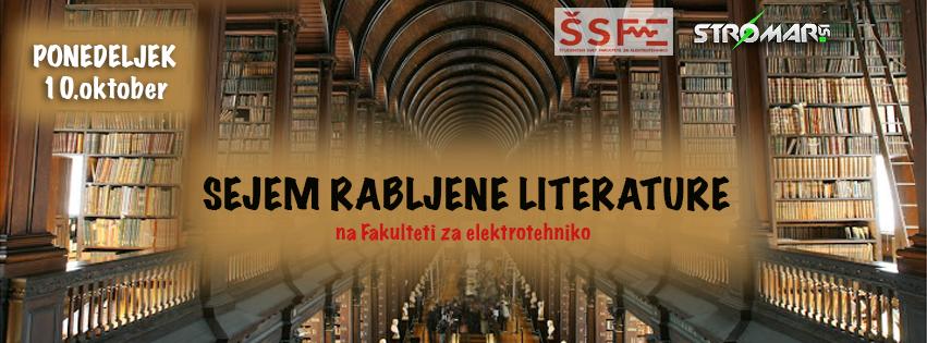 Sejem rabljene literature 2016 - Stromar.si