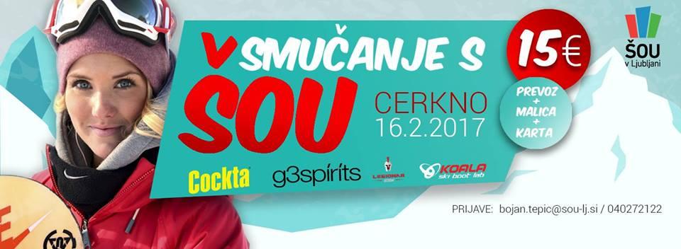 Stromar.si - Smučanje s ŠOU v Ljubljani (Cerkno)