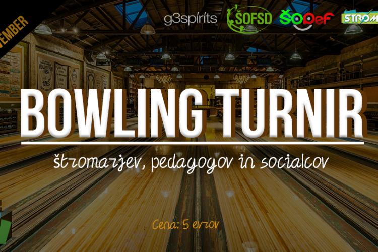 Bowling turnir FE, PeF in FSD // 9.11.