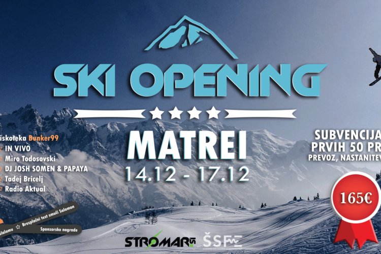 Ski Opening Matrei, Avstrija s Štromar.si