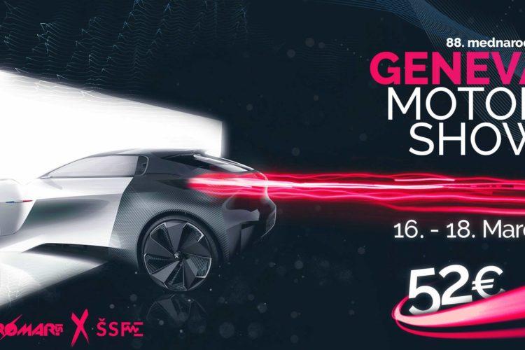 Geneva MOTOR SHOW 2018 s Stromar.si