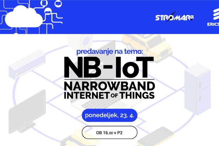 Predavanje na temo: NB-IoT (vabljeni predavatelji iz industrije)