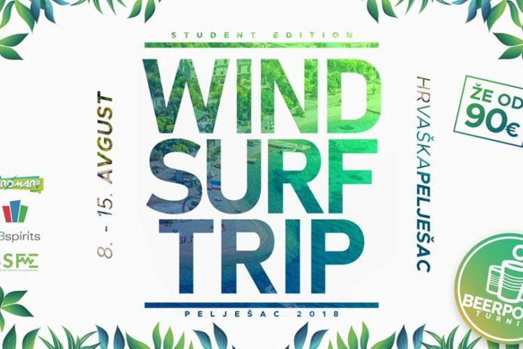 Windsurf trip 2018 [Student edition] ✻ Pelješac, Hrvaška ✻
