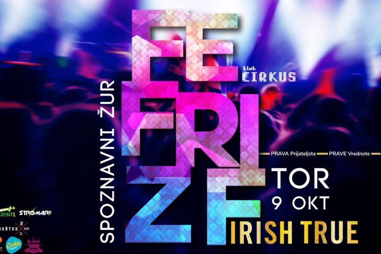 Spoznavni žur FE & FRI & ZF ❋ 9.10. ❋ @Cirkus